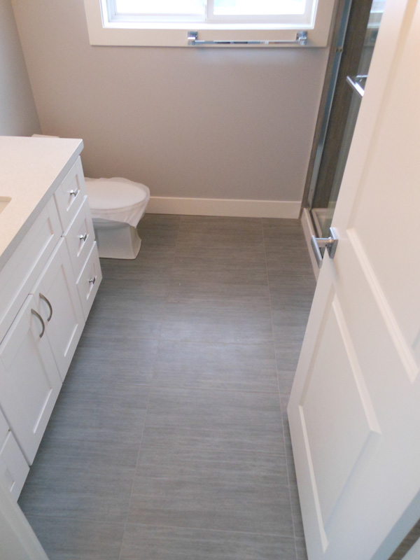 Gray Bathroom Floor Tile Palesten